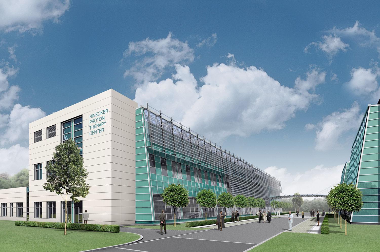 wssa architekten rinecker proton therapy center in m nchen. Black Bedroom Furniture Sets. Home Design Ideas