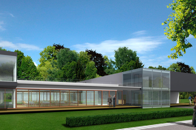 wssa architekten architekturwettbewerb erweiterung schlosshotel gross schwansee. Black Bedroom Furniture Sets. Home Design Ideas